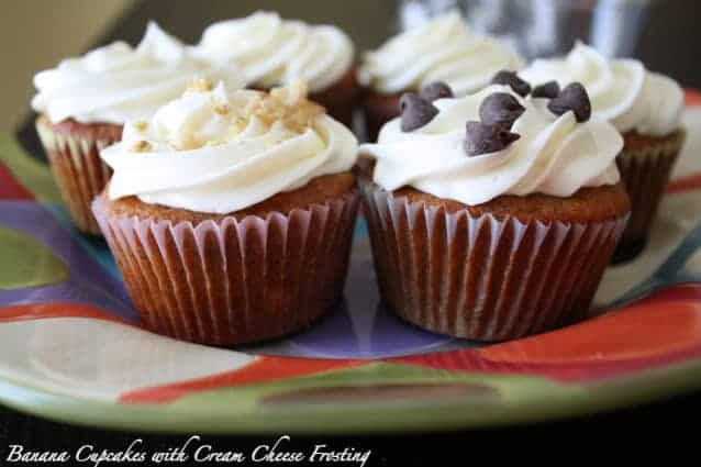 Post image for Banana Cupcakes 3 Ways