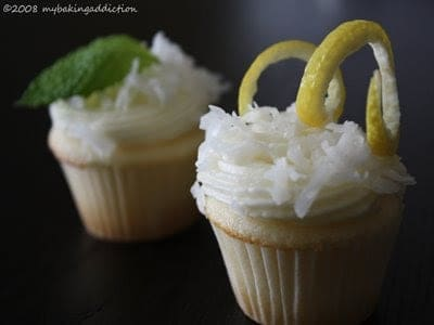 Post image for Lemon Curd Coconut Cupcakes