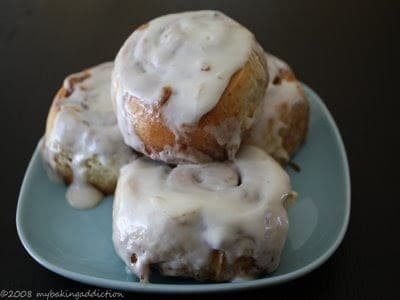 Last week I was on the search for cinnamon rolls that could be prepared at night and baked in the morning. My search ended after a friend sent me the recipe ...