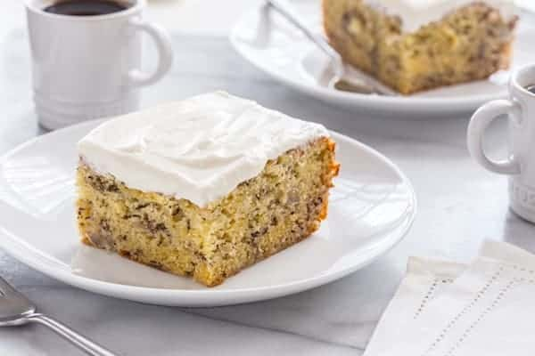 This Moist Banana Cake recipe has an unconventional cooling method, but I promise you, it's totally worth it. Your friends and family will be begging you for the recipe!