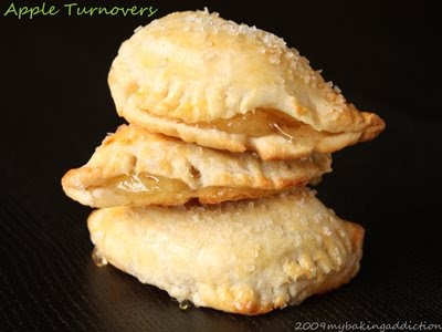 Post image for Fresh Apple and Cherry Turnovers
