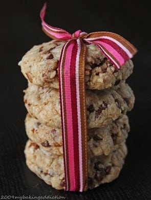 Post image for Coconut, Pecan & Chocolate Chip Cookies