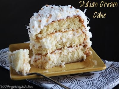 Post image for Italian Cream Cake