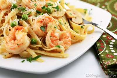 Post image for Shrimp Pasta