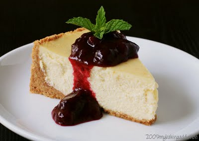 Vanilla Bean Cheesecake | My Baking Addiction