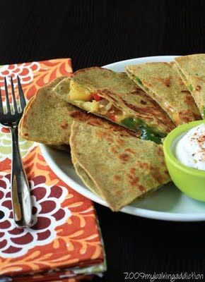 Post image for Farmer's Market Quesadillas