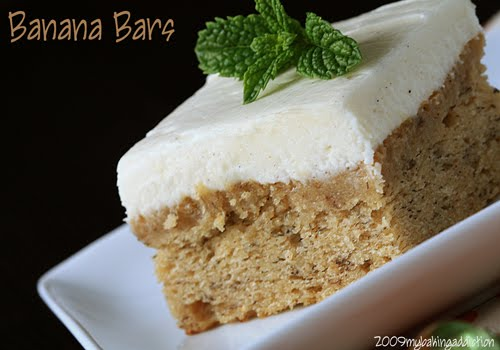 Post image for Banana Bars