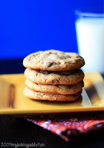 Post image for Oatmeal-Peanut Butter Chip Cookies