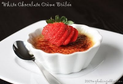 Post image for White Chocolate Crème Brulee
