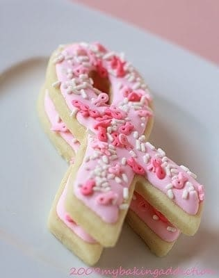 Post image for Pretty in Pink Sugar Cookies