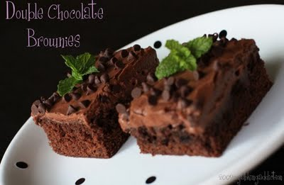 Post image for Double Chocolate Brownies