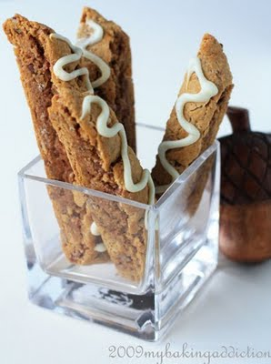 Post image for Pumpkin Pie Biscotti