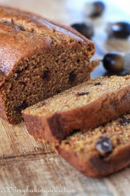 Post image for Chocolate Chip Pumpkin Bread