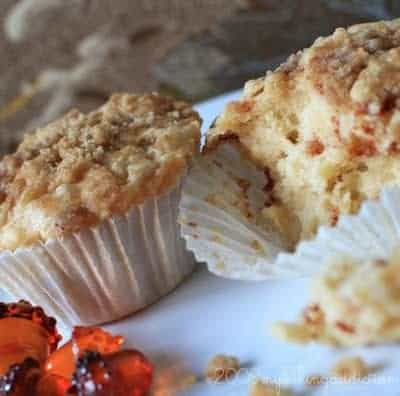 ... apple coffee cake of the muffins and then fresh apple cinnamon muffins