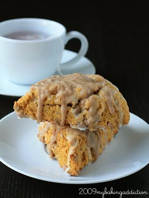 Post image for Pumpkin Cinnamon Chip Scones