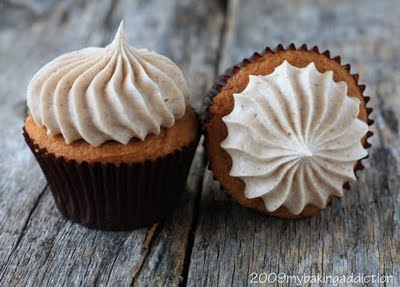 Pumpkin Cupcakes Ina Garten pumpkin cupcakes recipe | my baking addiction