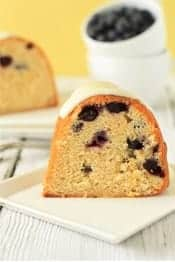 Lemon-Blueberry-Bundt