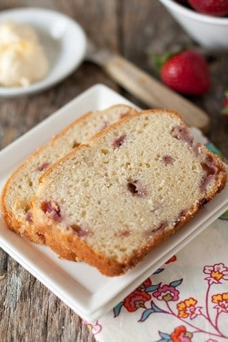 Post image for Fresh Strawberry Bread