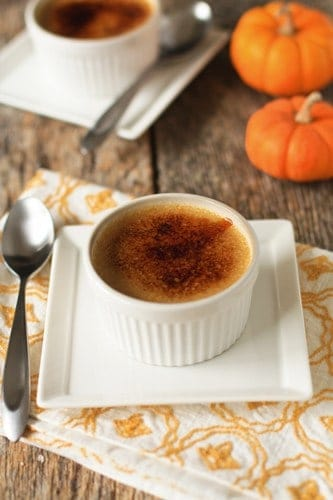 Holiday recipe swap vanilla infused pumpkin cr me brulee recipe my baking addiction - Delicious quince recipes autumns flavors on your table ...