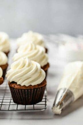 Fluffy Homemade Buttercream Frosting is so easy to make, you'll wonder why you ever purchased it from the store.