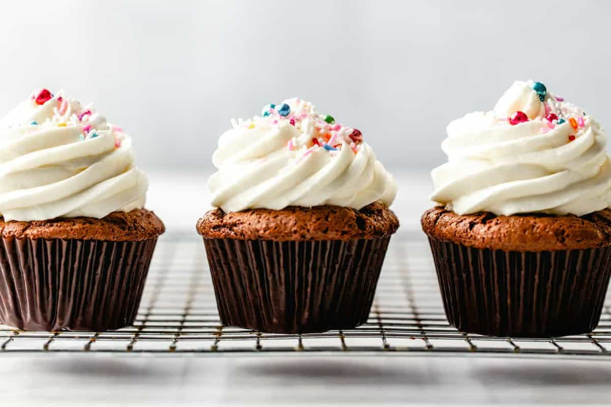 Whether topping cupcakes, cakes, or cookies, Homemade Buttercream Frosting is perfection