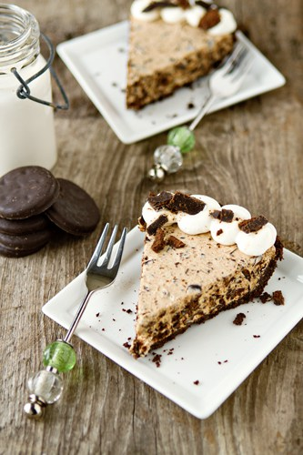 Thin Mint Pie Recipe | My Baking Addiction