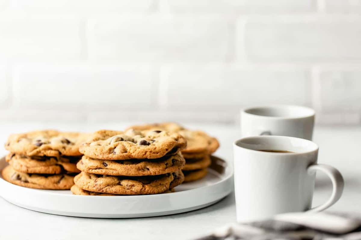 New York Times chocolate chip cookies (aka my favorite chocolate chip cookies) are perfect with a cup of coffee