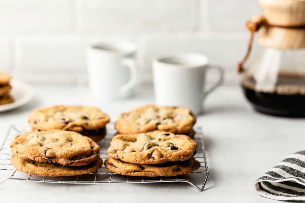 You'll never want to make any other cookie recipe after trying the New York Times chocolate chip cookies. They're my favorite chocolate chip cookie recipe!