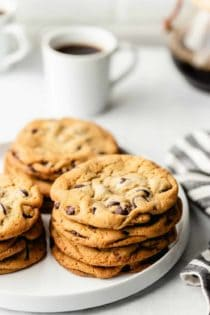 Chocolate chip cookies that are huge, chewy, and perfectly delicious are within your grasp with the New York Times chocolate chip cookie recipe