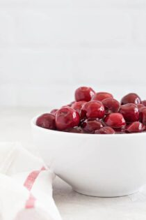 Homemade Cherry Pie Filling comes together in just a few minutes. Try a spoonful with your morning yogurt or spooned over a stack of fresh, crispy waffles for a delicious treat!