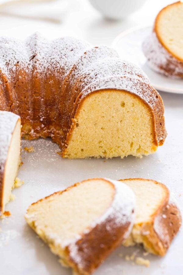 Philadelphia Cream Cheese Lemon Pound Cake