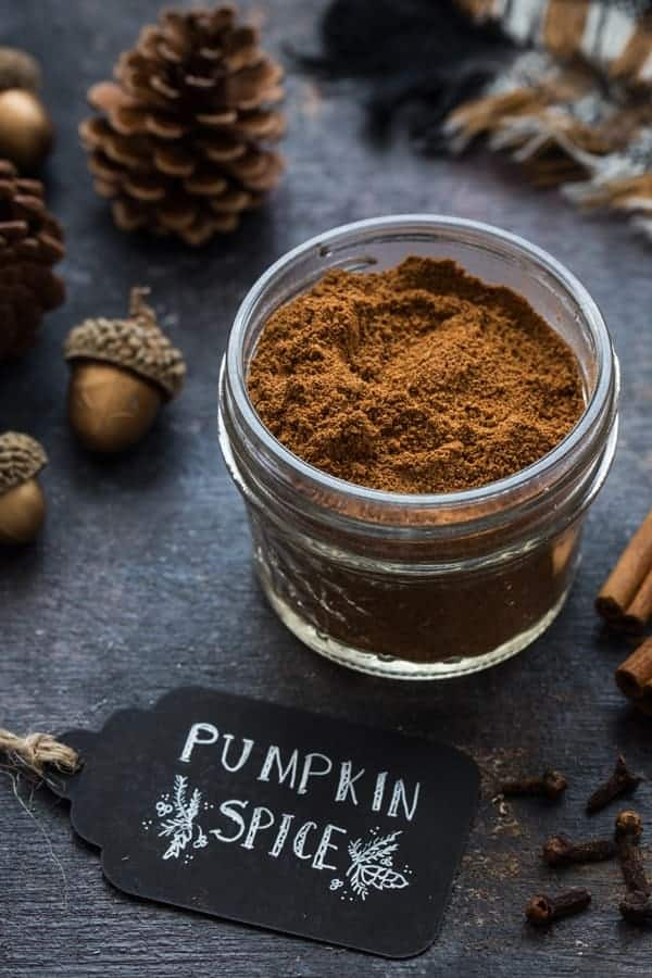 Homemade Pumpkin Pie Spice can be stored in your pantry along with your other spices. Easy!