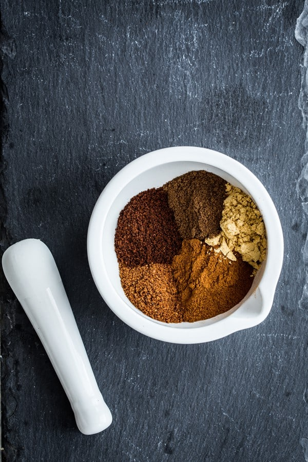 Homemade Pumpkin Pie Spice is so easy to put together. You probably have all the ingredients in your spices right now!