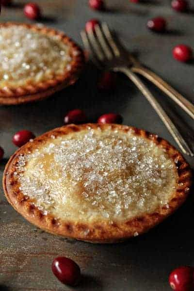 Pear and Cranberry Individual Pies | My Baking Addiction