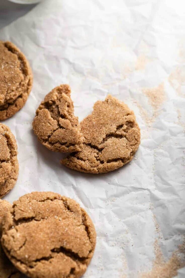 Chewy Chai Sugar Cookies pack a flavor punch with a blend of chai-inspired spices. If you love chai, these are the cookies for you!