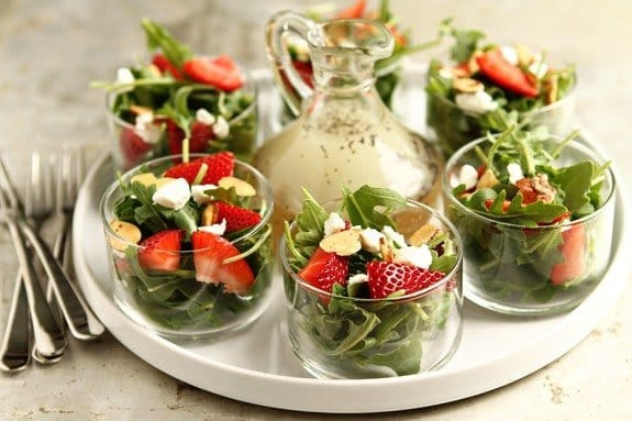 Strawberry Salad With Poppy Seed Dressing Print My