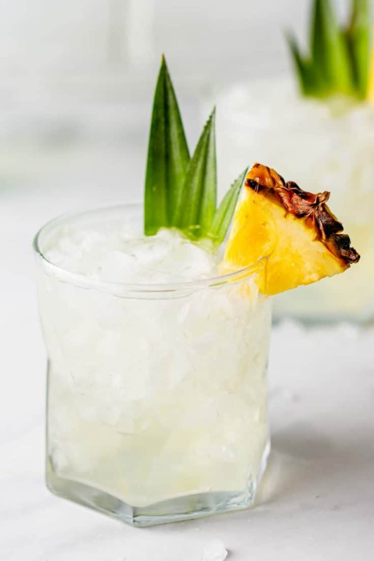 A homemade take on the famous pineapple martini at The Capital Grille, Stoli Doli is incredibly easy to make and easy to drink.