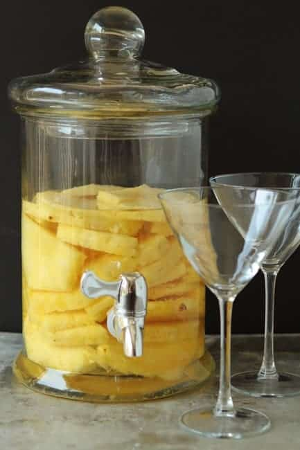 how long can you keep pineapple in vodka