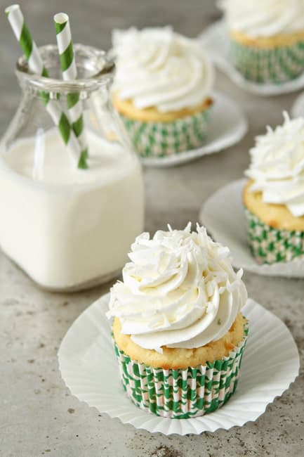 Post image for Coconut Cupcakes
