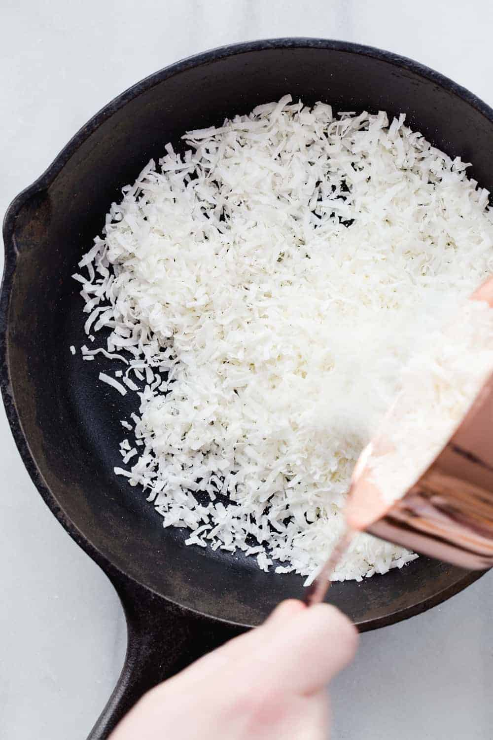 Learn how to toast coconut using the stovetop, oven or microwave. So incredibly simple!