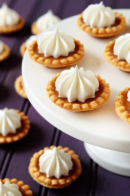 Post image for Mini Pumpkin Pies