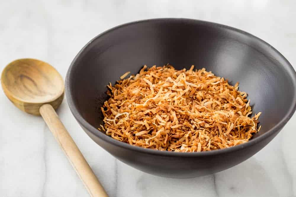 Toasting coconut at home couldn't be easier! You can use the stovetop, oven and even the microwave.
