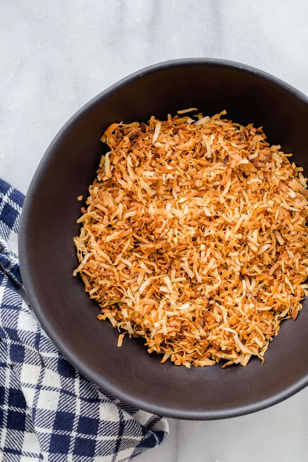 Learn how to toast coconut using one of three simple methods. So easy and delicious!
