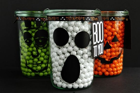 Post image for Halloween Candy Jars