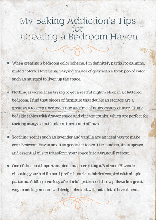 creating a bedroom haven
