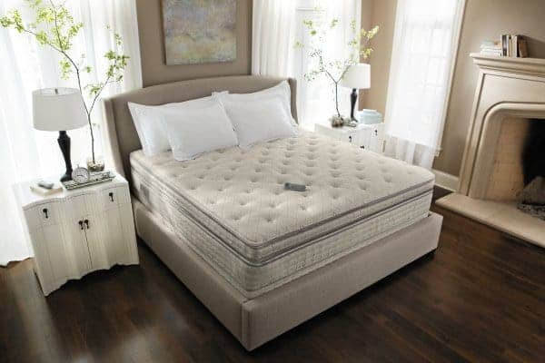 Classic Sleep Products Natural Expressions 1100 95% Waveless Hardside Waterbed Mattress Queen