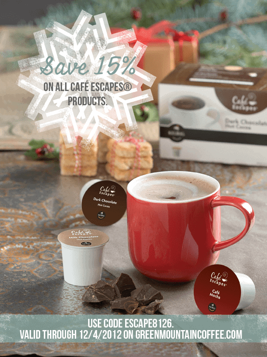 Post image for Indulge with Cafe Escapes