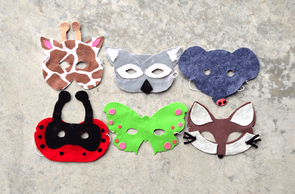 Post image for Homemade Holiday Gifts: Animal Masks and Disguise Kits