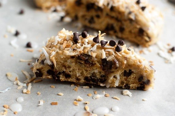 Chocolate-Coconut Scones Recipe — Dishmaps