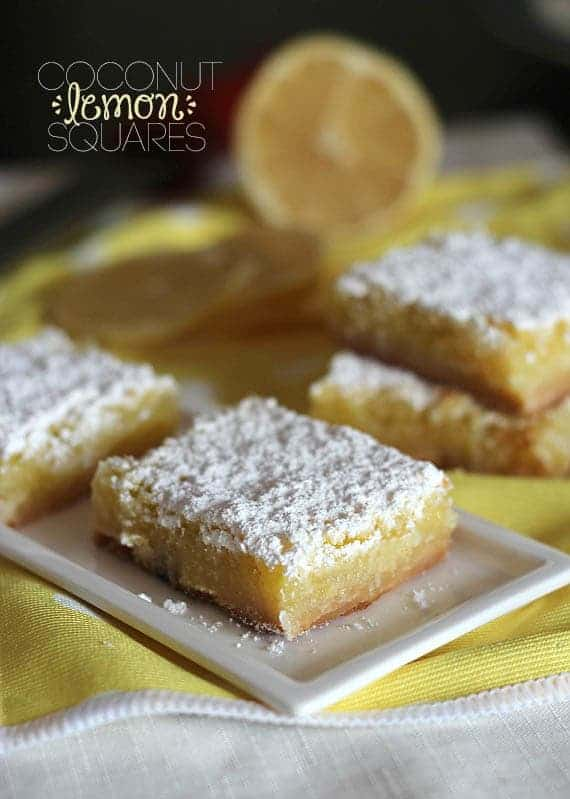 Post image for Guest Post: Coconut Lemon Squares